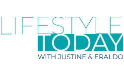 Lifestyle Today with Justine and Eraldo Logo