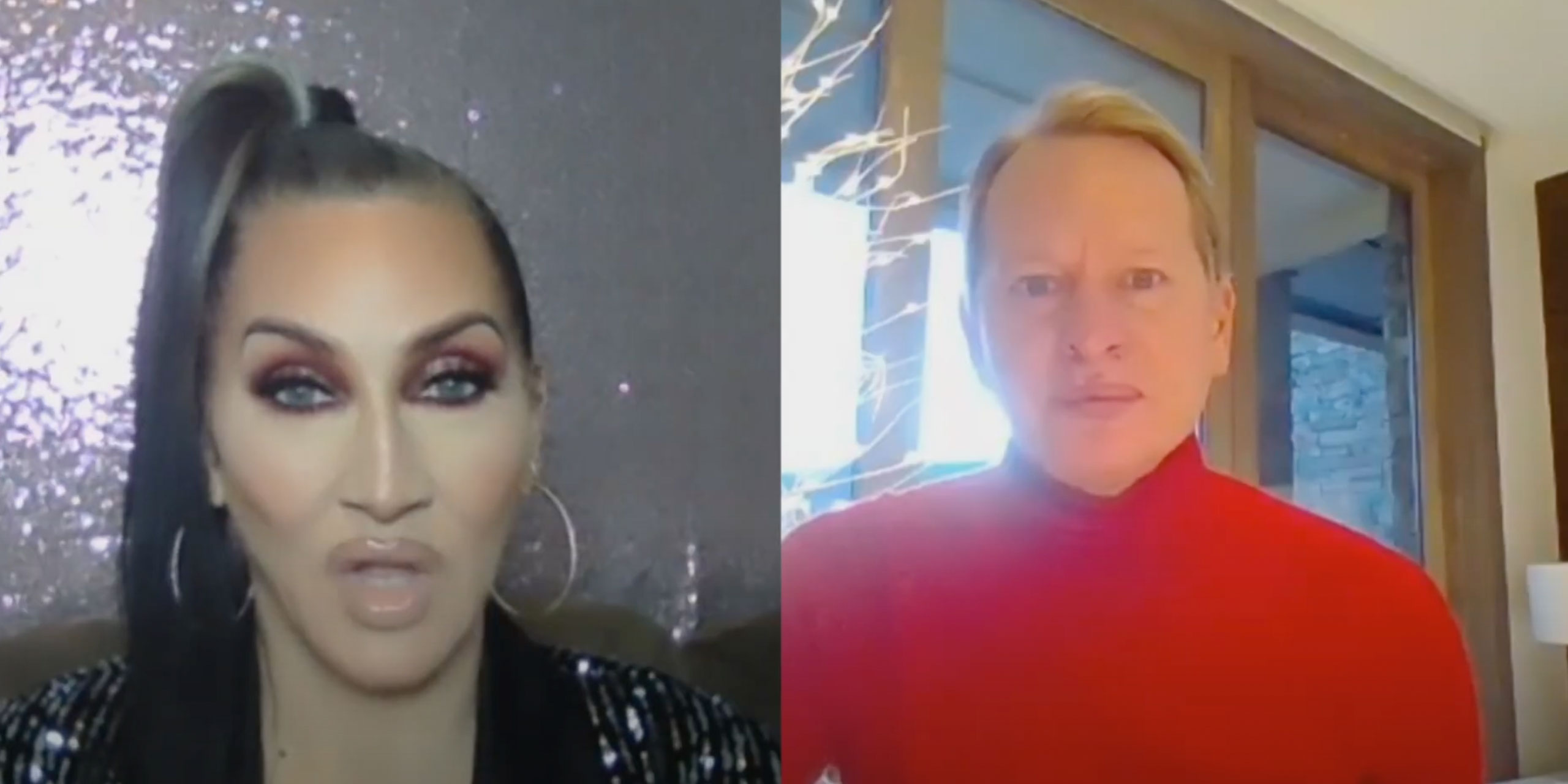 Michelle Visage & Carson Kressley Interview